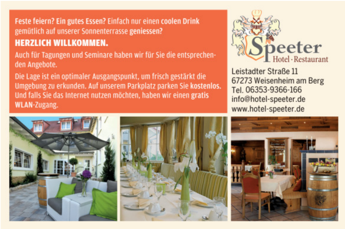 Speeter Hotel - Restaurant