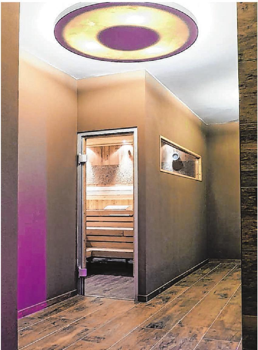 Das Innere der Räume im Neubau wurde geschmackvoll gestaltet und dekoriert.