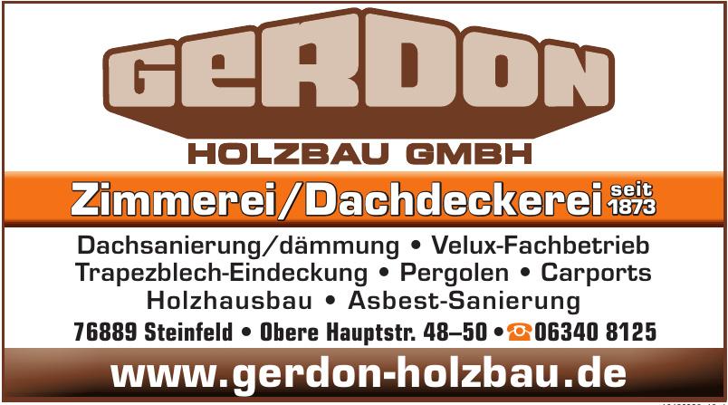 Gerdon Holzbau