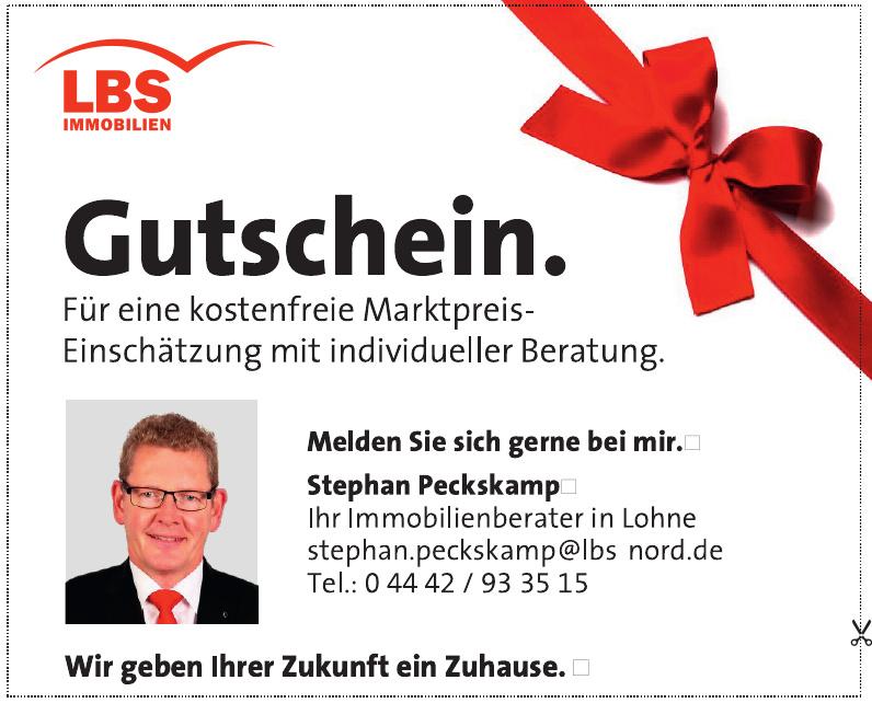 LBS Immobilien - Stephan Peckskamp