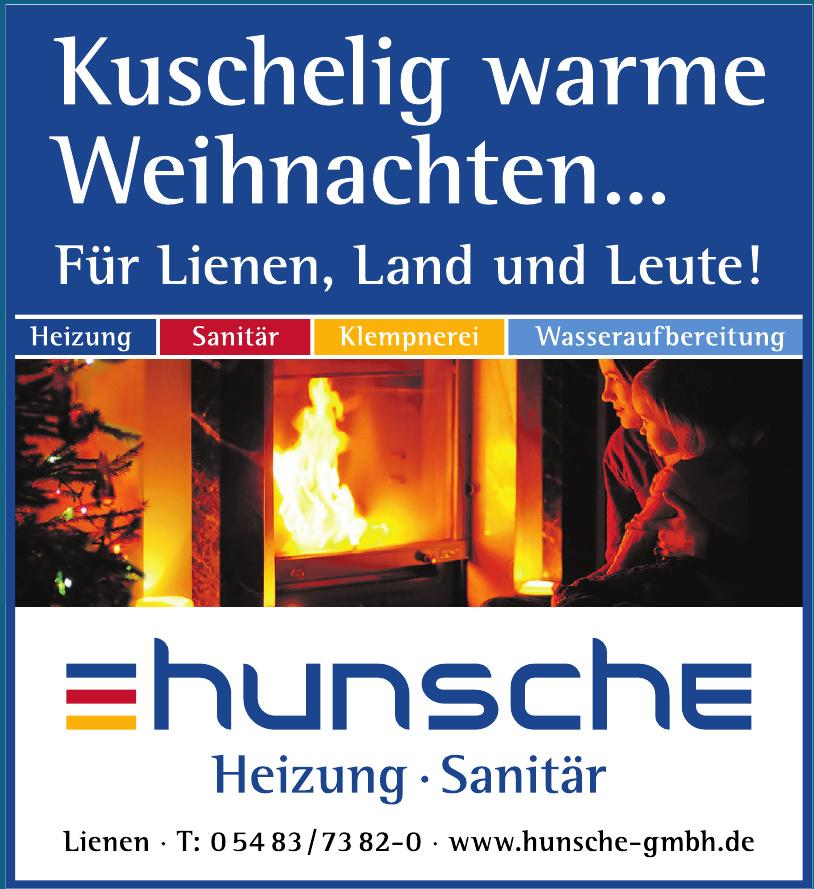 Hunsche GmbH Heizung - Sanitär