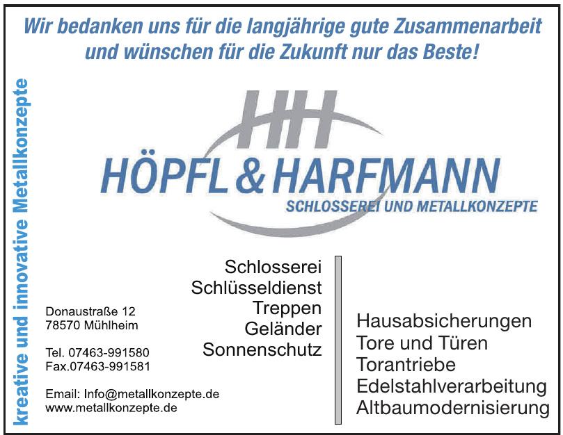 Höpfl & Harfmann Schlosserei und Metallkonzepte