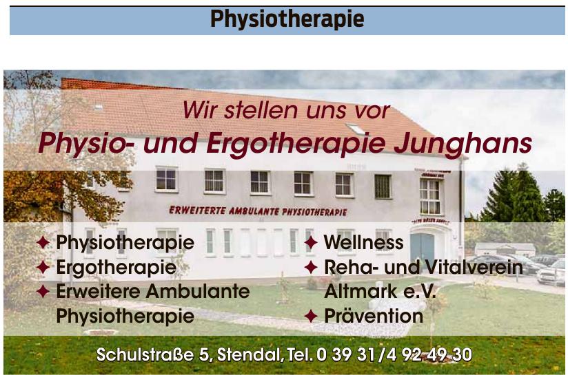 Physio- und Ergotherapie Junghans