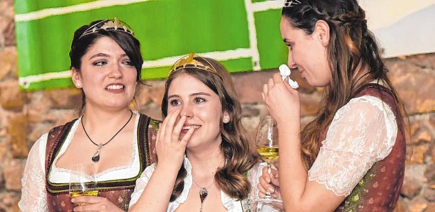 Weinhoheiten: Abschied mit Tränen