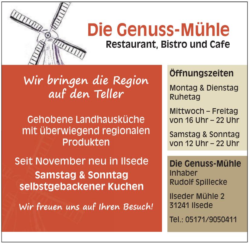 Die Genuss-Mühle Restaurant, Bistro und Cafe