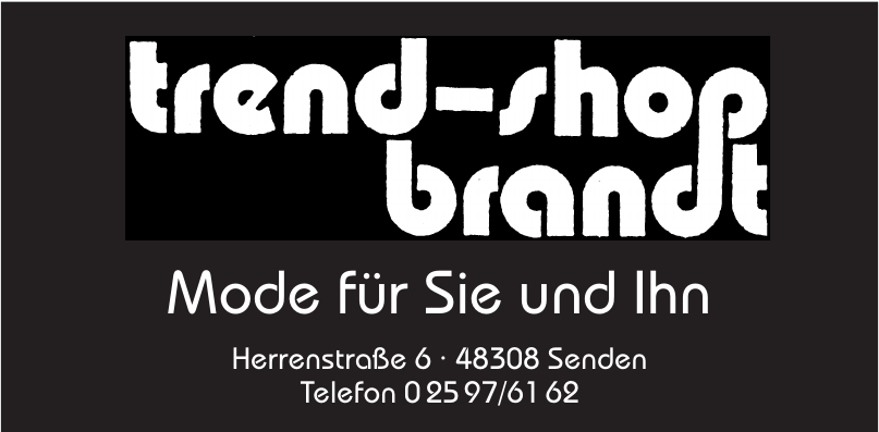 Trend-Shop Brandt