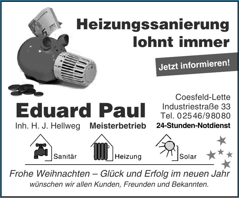 Eduard Paul Meisterbetrieb