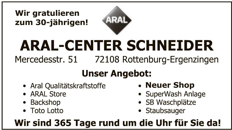 Aral-Center Schneider