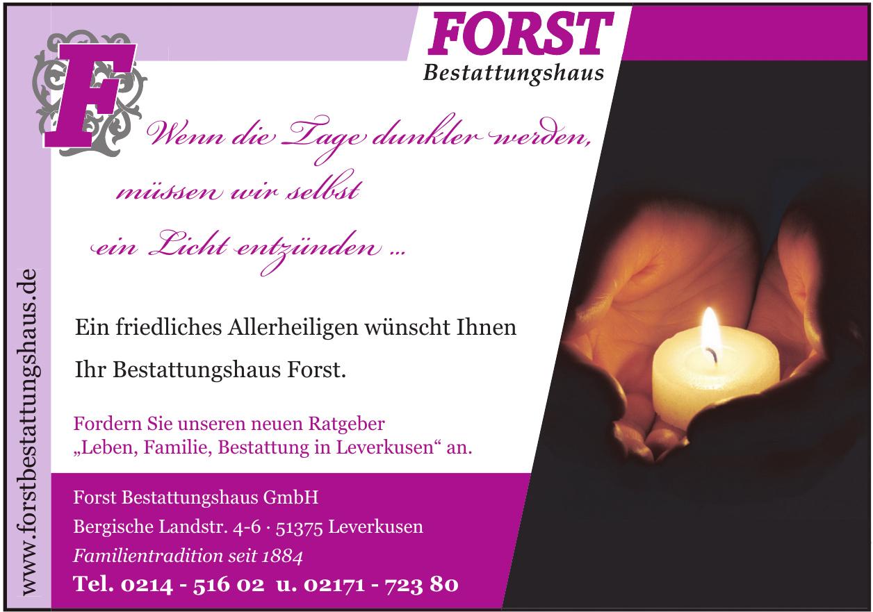Forst Bestattungshaus GmbH