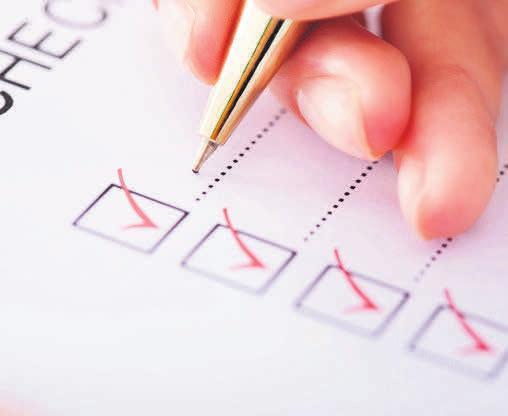 An alles gedacht? Eine Checkliste thilft beim Grundstückskauf.