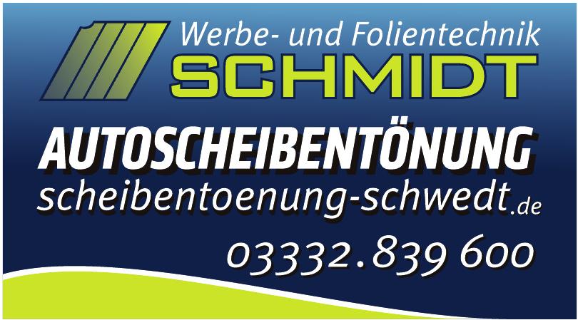 Werbe- und Folientechnik Schmidt
