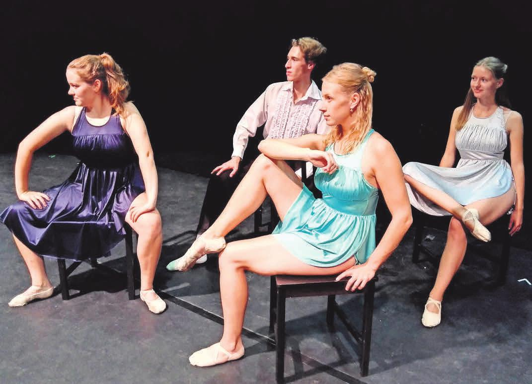 """Die Kasmet-Ballett-Company entführt in """"Respect"""" in die Welt der Musik-Ikone Aretha Franklin.   FOTO: INGA LEHR-IVANOV"""