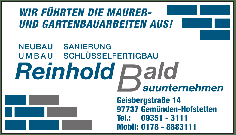 Reinhold Bald