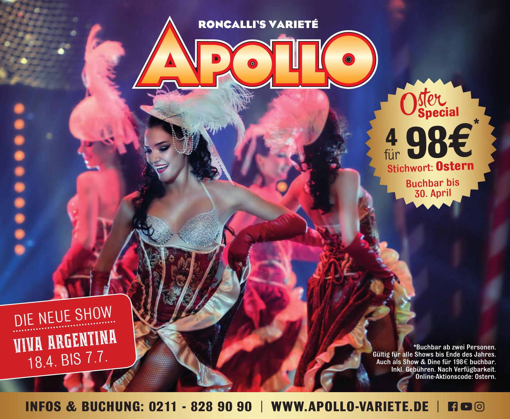 Roncalli´s Varieté Apollo
