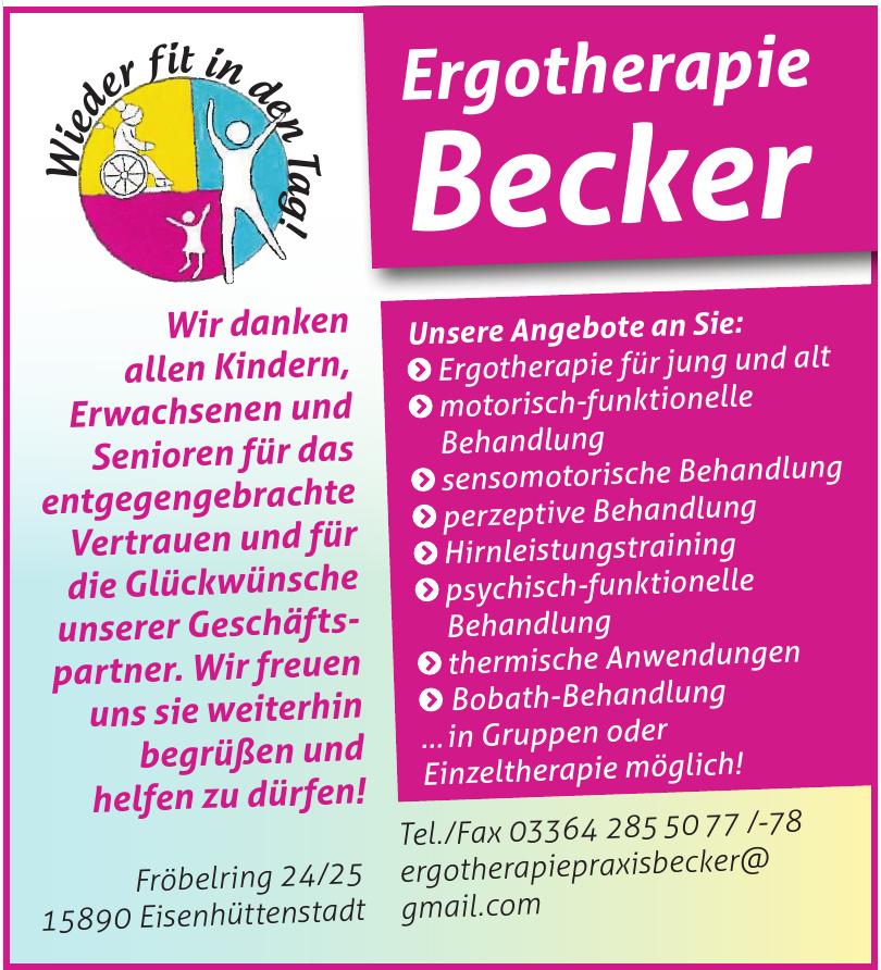 Ergotherapie Becker