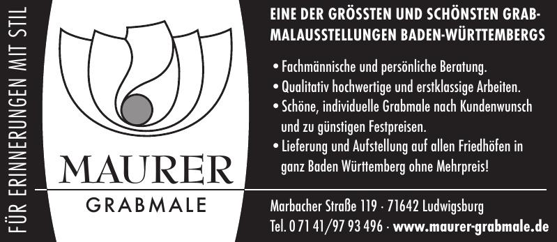 Maurer Grabmale & Natursteine