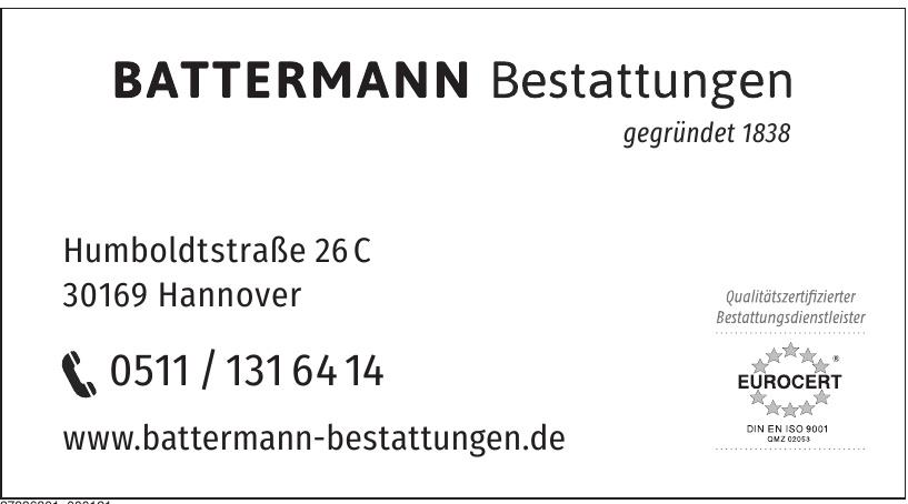 Battermann Bestattungen