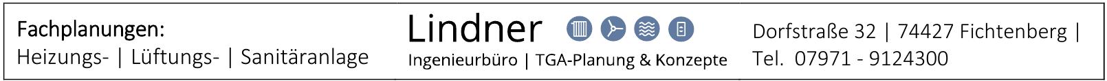 Lindner Ingenieurbüro - TGA-Planung & Konzepte