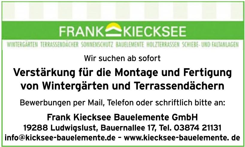Frank Kiecksee Bauelemente GmbH