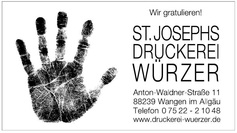 St. Josephs Druckerei Würzer