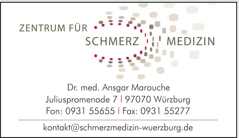 Zentrum für Schmerzmedizin - Dr. med. Ansgar Marouche
