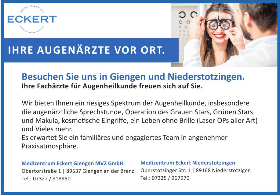 Medizentrum Eckert Giengen MVZ GmbH
