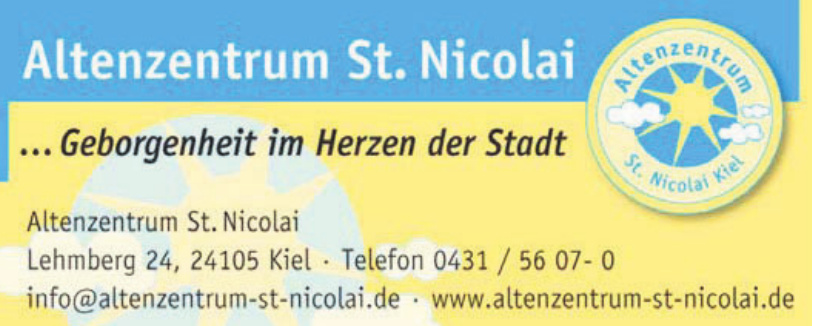 Diakonie Altholstein - Altenzentrum St. Nicolai