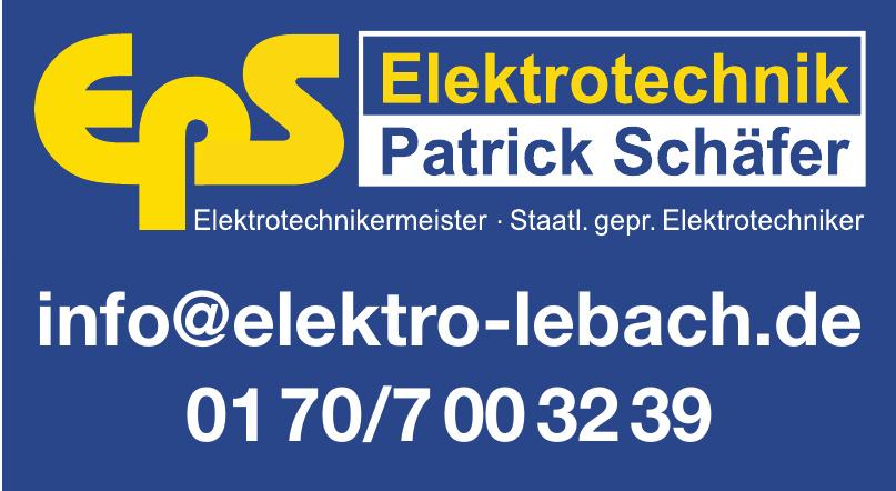 Eps Elektrotechnik Patrik Schäfer