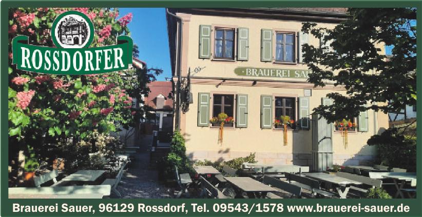 Brauerei Sauer