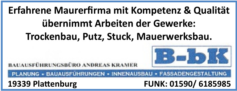 B-bK Bauführungssbüro Andreas Kramer