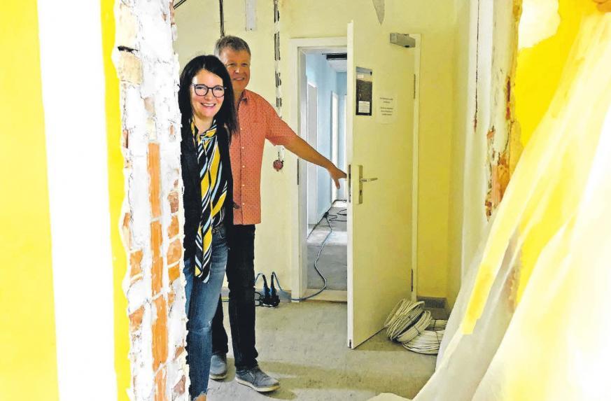 Umfangreiche Maßnahmen werden an der Grundschule Obernfeld durchgeführt. foto: be