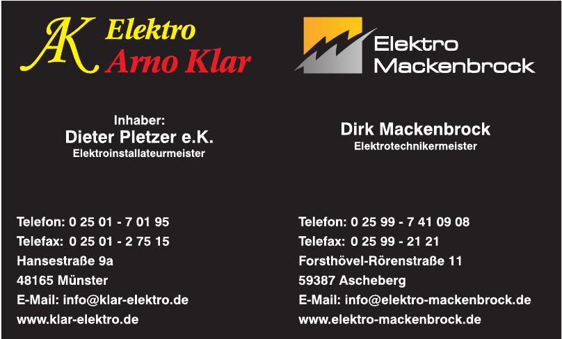 Elektro Arno Klar
