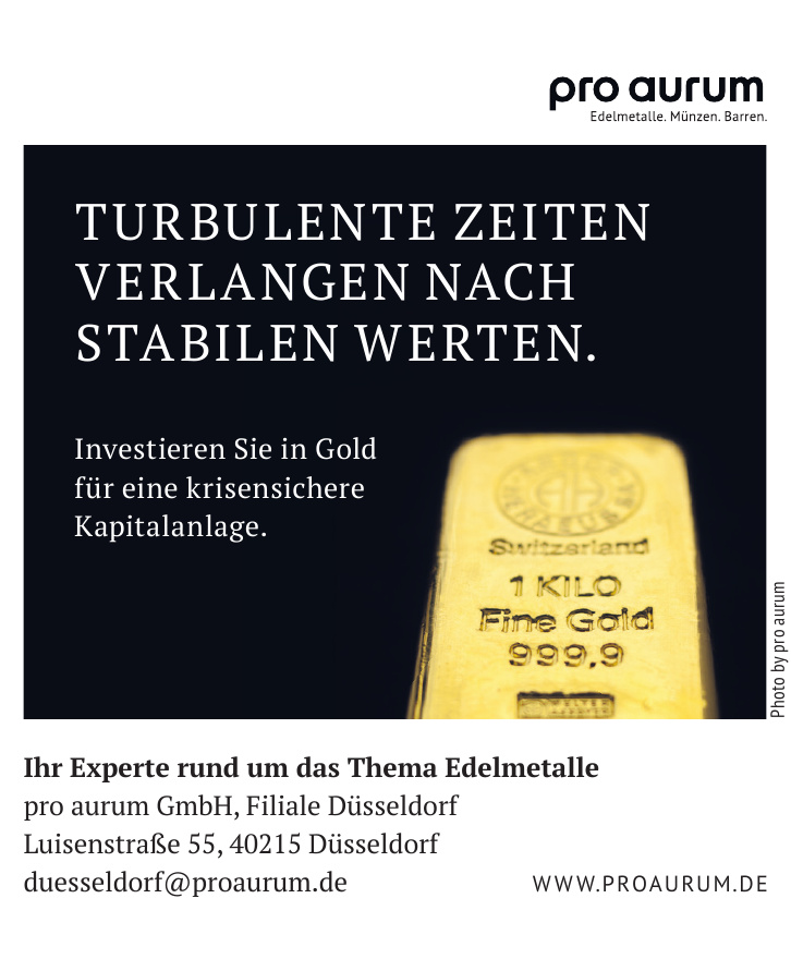 pro aurum GmbH, Filiale Düsseldorf