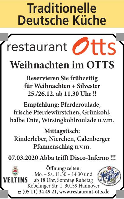Restaurant Otts