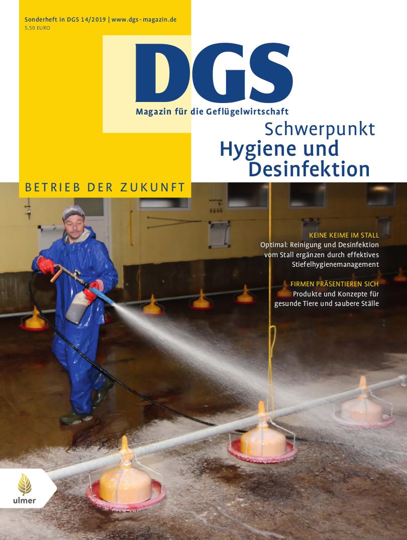 DGS Sonderheft Hygiene und Desinfektion