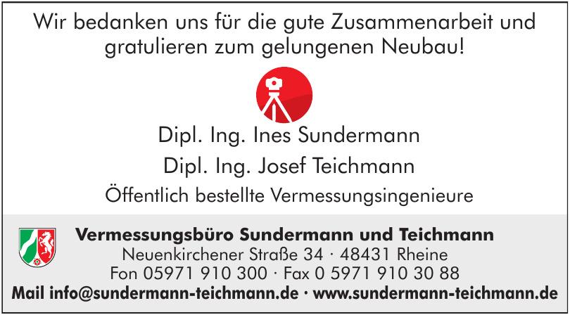 Vermessungsbüro Sundermann und Teichmann