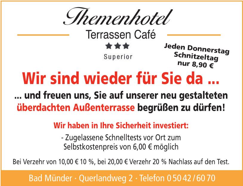 Themenhotel Terrassen Café