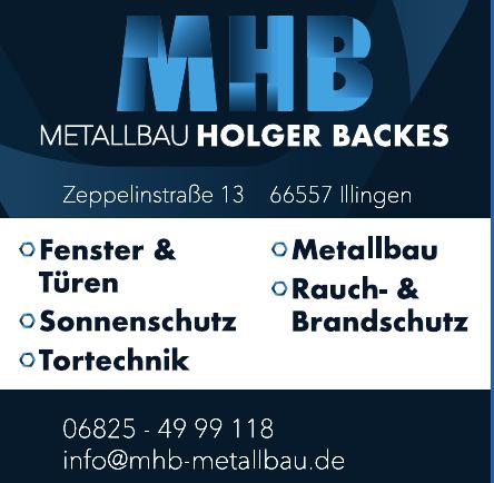 MHB Metallbau Holger Backes
