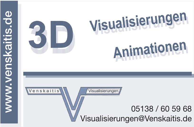 Venskaitis Visualisierungen