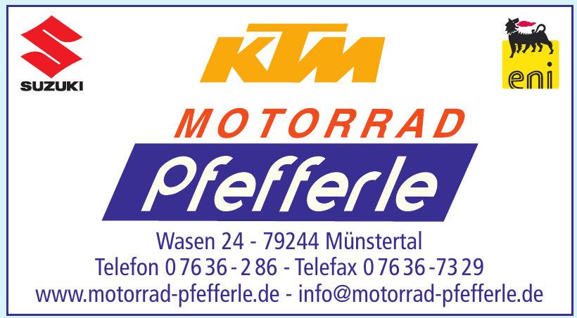 KTM Motorrad Pfefferle