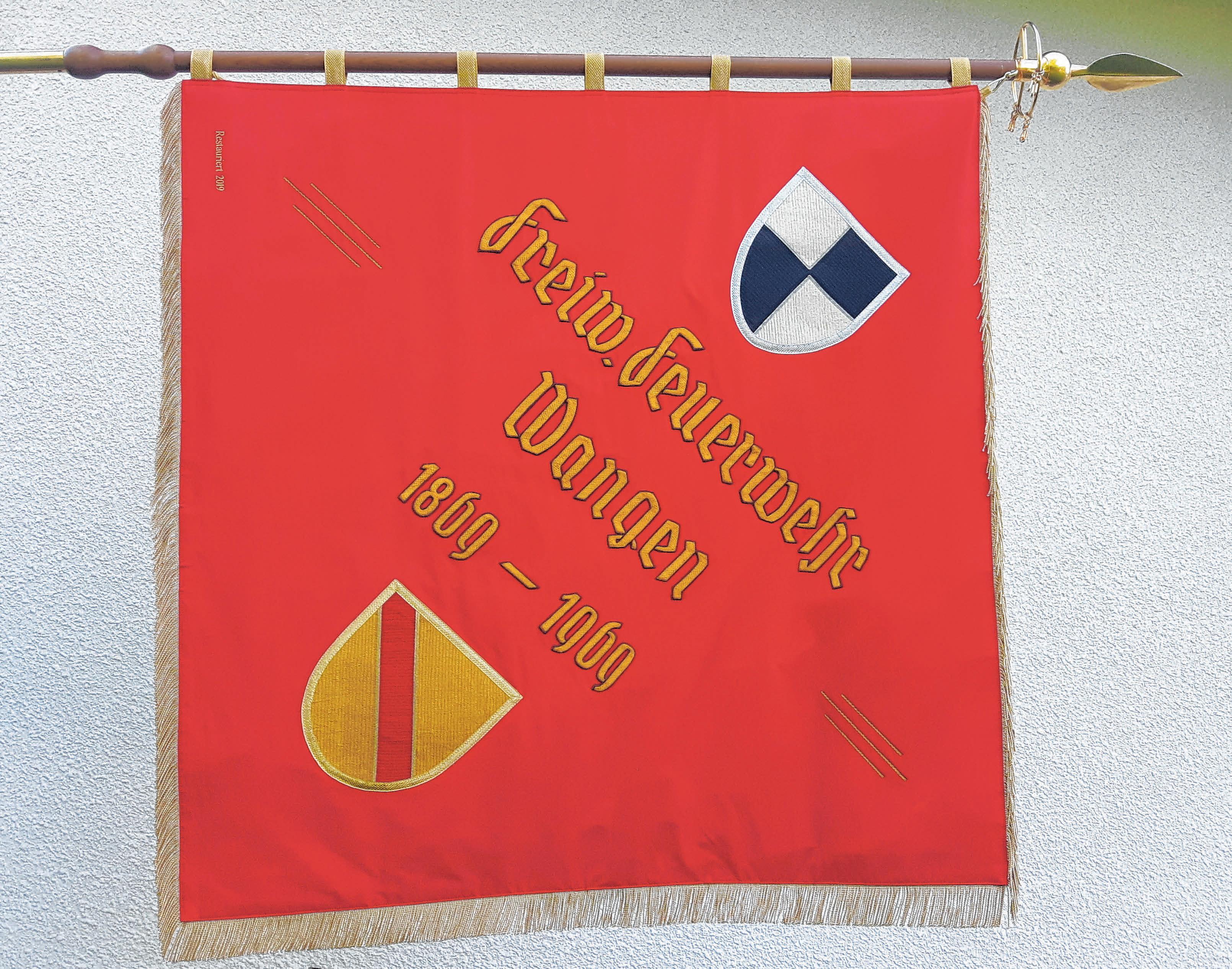 Die neue Fahne.
