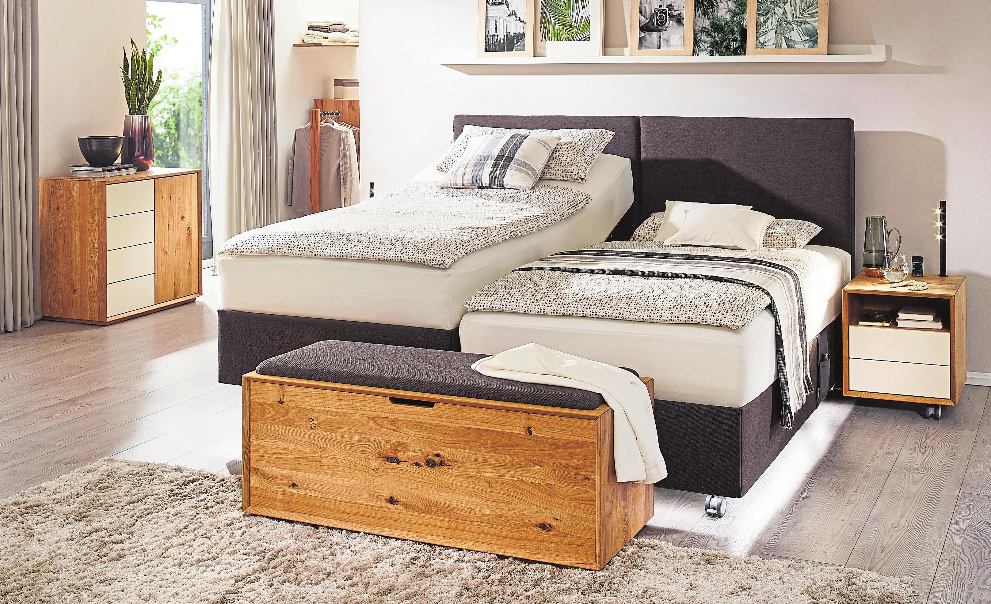 Kirchner realisiert individuelle Einzel- oder Duobetten mit hoher Funktionalität in modernem oder klassischem Design.