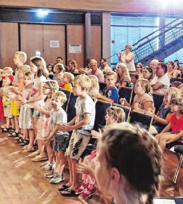 Begeisterte Zuschauer. Foto: Sabine Ackermann