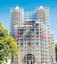 St. Pantaleon Kirche, Köln Fotos: FLECK Gerüstbau