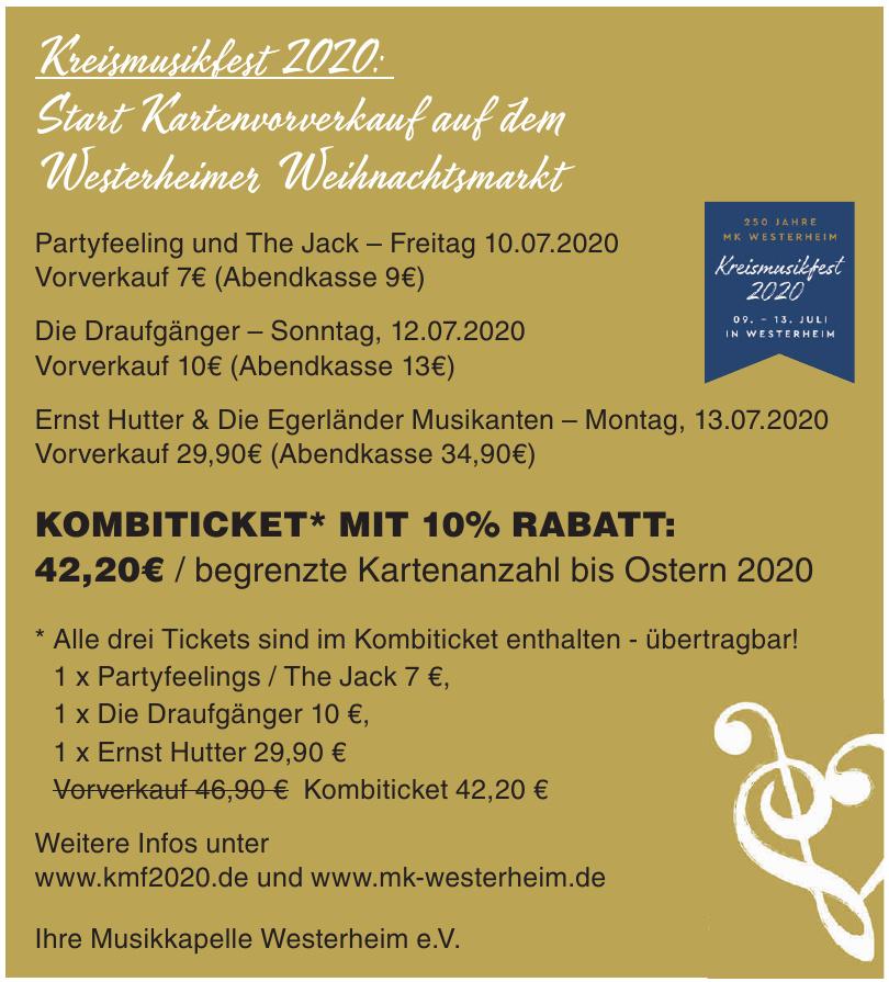 Musikkapelle Westerheim e.V.