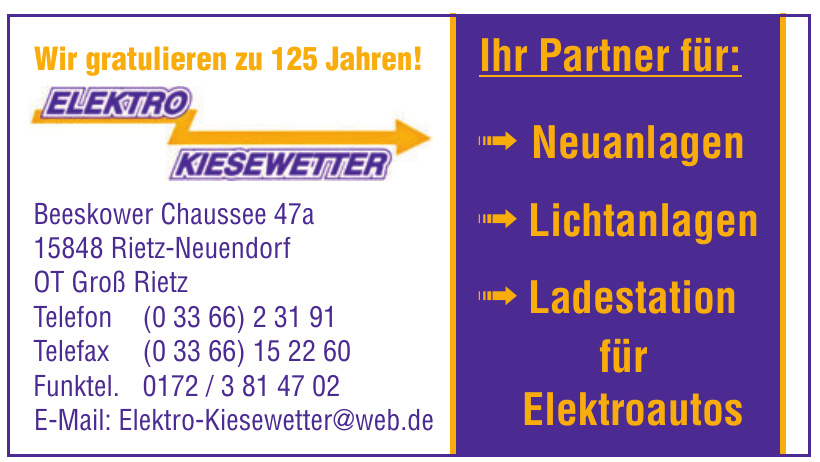 Elektro Kiesewetter