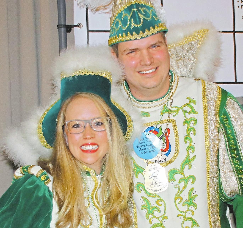 Aktuell amtieren Frederik I. und Tatjana I. als Vorhelmer Prinzenpaar.