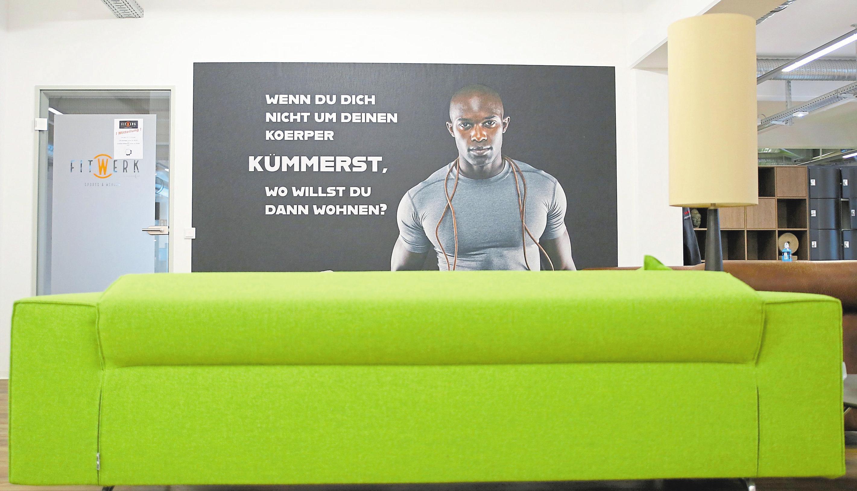 In einem modernen Ambiente werden die Besucher des Sportwerks – hier im Fitwerk – empfangen. Foto: Thomas Strac