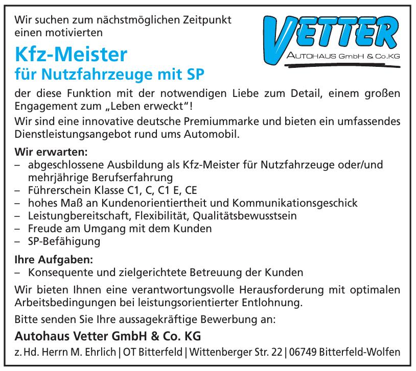 Autohaus Vetter GmbH & Co. KG