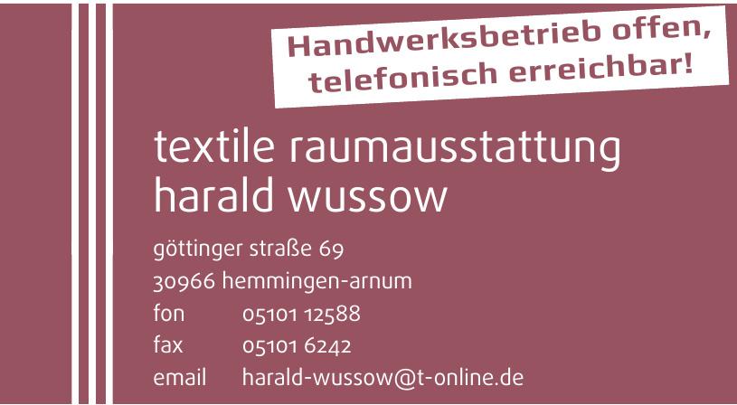 Textile Raumausstattung Harald Wussow